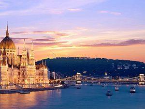 Budapesti hajós városnézés