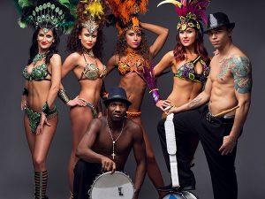 Brazil karneváli show, karneváli táncos műsor rendelés Budapest