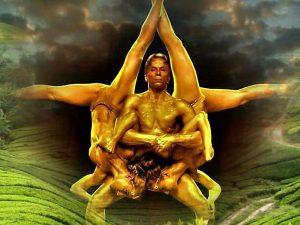 Gold Pyramid akrobata műsor rendelés Budapest