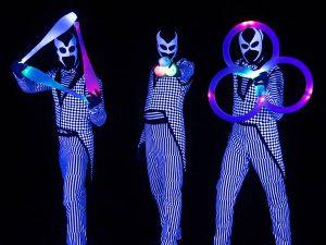 LED zsonglőr show műsor rendelés Budapest