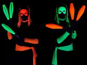 LED és UV fény show rendelés Budapest