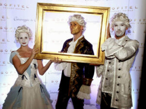 Élő szobor pantomim show műsor rendezvényre