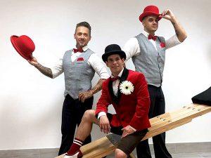 Brothers artista trió show műsor rendelés Budapest
