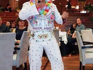 Elvis imitátor show rendelés rendezvényre