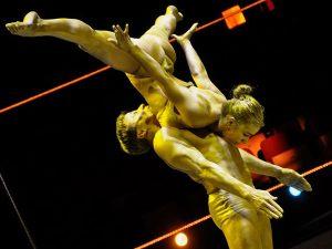 Cirkuszi akrobata show műsor rendelés