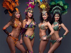 Brazil karneváli szamba show rendelés rendezvényre