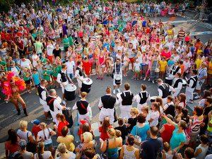 Brazil karneváli show és dobosok rendezvényre