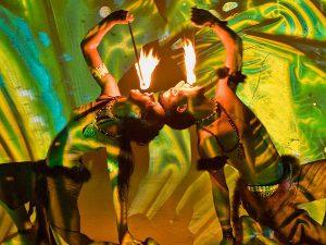 Tűz artista show műsor rendelés rendezvényre
