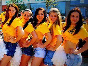 Cheerleaders show Budapest, műsor rendelés