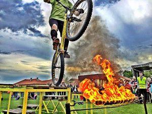 BMX flatland bemutató rendelés rendezvényre