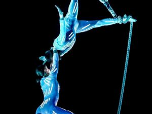 LED légtornász akrobata show műsorrendelés Budapest