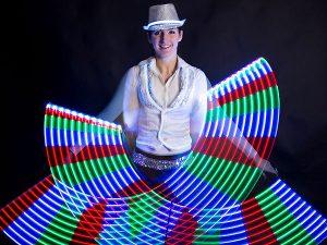 LED artista show műsor