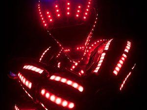 LED robot show artista műsor rendelés
