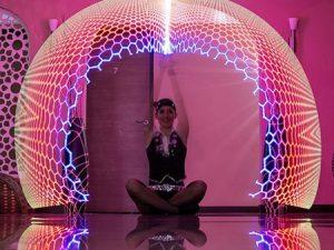 LED smart poi show rendezvényre Budapest